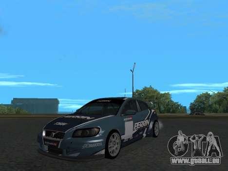Volvo C30 Race pour GTA San Andreas vue de droite