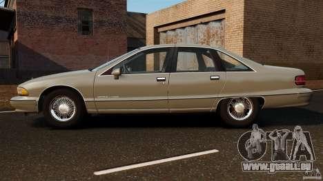 Chevrolet Caprice 1991 für GTA 4 linke Ansicht