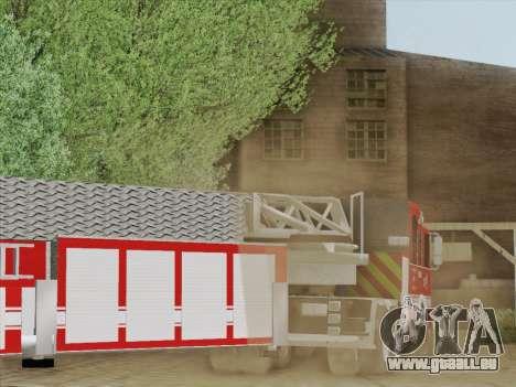 Pierce Arrow XT LAFD Tiller Ladder Truck 10 für GTA San Andreas