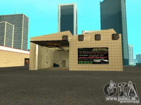 Salon de l'automobile Porsche pour GTA San Andreas sixième écran