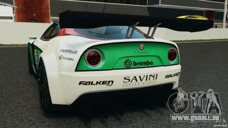 Alfa Romeo 8C Competizione Body Kit 1 pour GTA 4 Vue arrière de la gauche