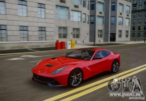 Ferrari F12 Berlinetta 2013 pour GTA 4 est une vue de l'intérieur