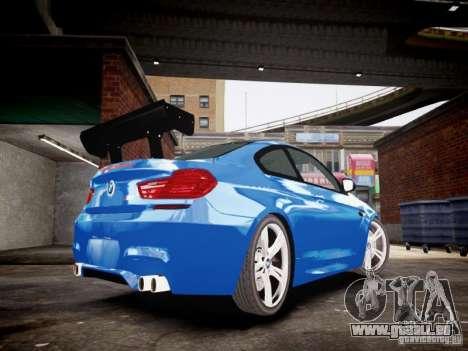 BMW M6 2013 für GTA 4 hinten links Ansicht