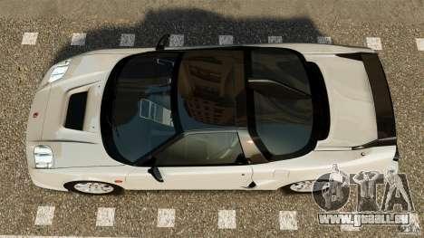 Honda NSX-R GT für GTA 4 rechte Ansicht