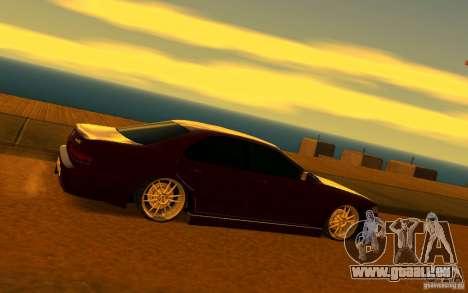 Toyota Cresta JZX 90 pour GTA San Andreas sur la vue arrière gauche