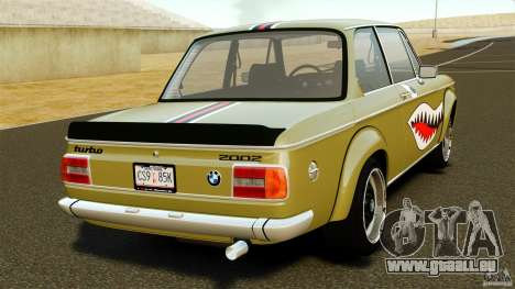 BMW 2002 Turbo 1973 für GTA 4 hinten links Ansicht