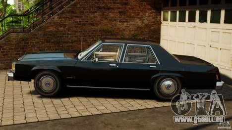 Ford LTD Crown Victoria 1987 für GTA 4 linke Ansicht