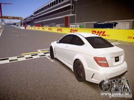 Mercedes-Benz C63 AMG Stock Wheel v1.1 für GTA 4 hinten links Ansicht