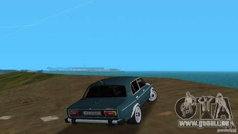 VAZ 2106 pour GTA Vice City vue arrière