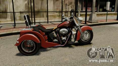 Harley-Davidson Trike pour GTA 4 est une gauche