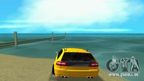 VOLVO V40 pour GTA Vice City sur la vue arrière gauche