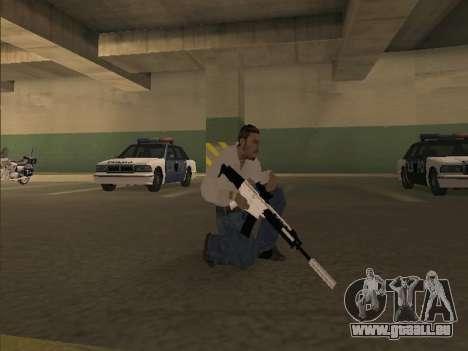 Chrome Weapons Pack pour GTA San Andreas troisième écran