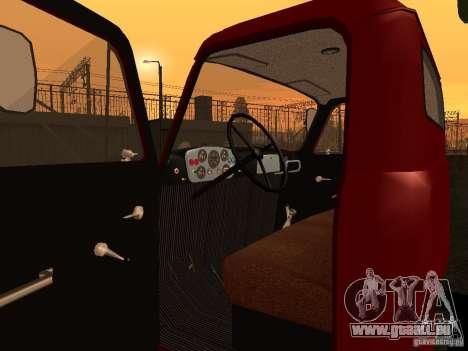 GAZ 52 für GTA San Andreas Rückansicht