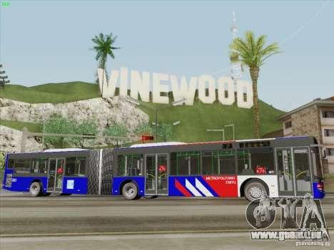 Design X3 pour GTA San Andreas vue arrière