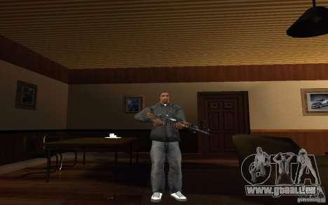 AK-47 par le jeu Left 4 Dead pour GTA San Andreas deuxième écran