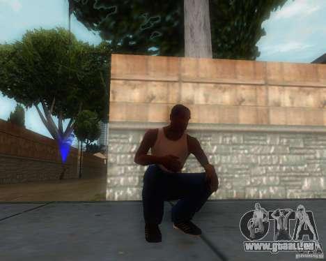 GTA IV Animations v1.1 pour GTA San Andreas deuxième écran