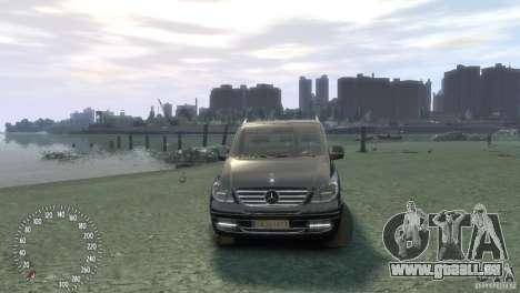 Mercedes-Benz Vito 2013 pour GTA 4 est un droit