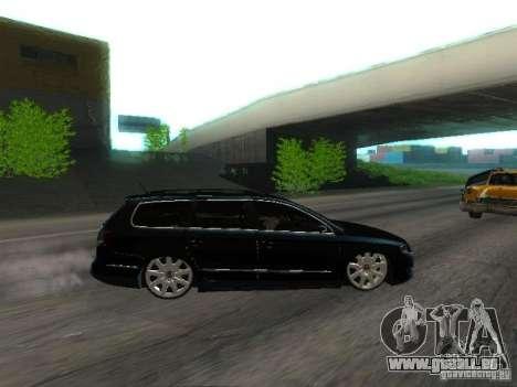 Volkswagen Passat B6 Variant Com Bentley 20 Fixa pour GTA San Andreas vue intérieure