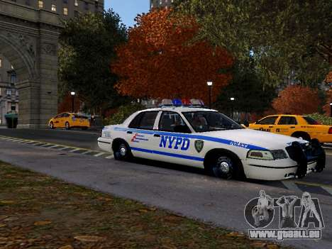 Ford Crown Victoria NYPD pour GTA 4