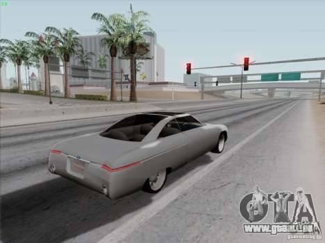 Ford Fortynine pour GTA San Andreas vue arrière
