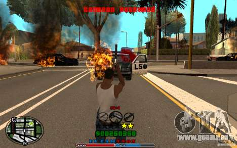 Cleo HUD by Cameron Rosewood V1.0 für GTA San Andreas sechsten Screenshot
