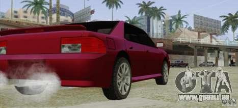 Sultan SRX für GTA San Andreas zurück linke Ansicht