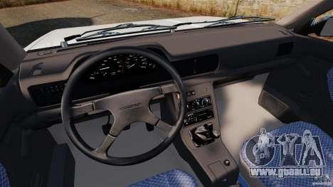 Daewoo-FSO Polonez Caro Plus 1.6 GSI 1998 Final pour GTA 4 Vue arrière de la gauche