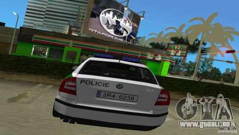 Skoda Octavia 2005 pour une vue GTA Vice City de la droite