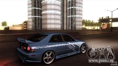 Lexus IS 300 Veilside pour GTA San Andreas vue de droite