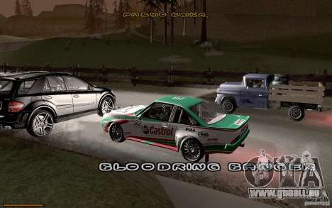 Nouvelle police pour GTA San Andreas quatrième écran