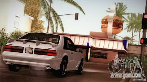 Ford Mustang SVT Cobra 1993 für GTA San Andreas Räder