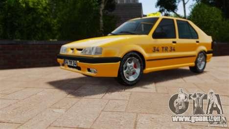 Taxi Renault 19 pour GTA 4 est un droit
