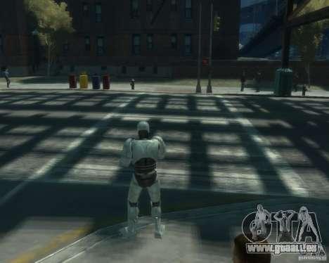 Haut-Robokopa für GTA 4 dritte Screenshot