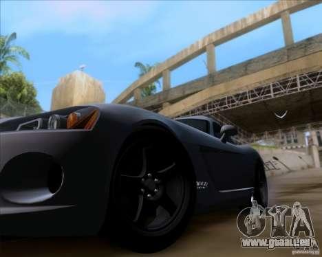 Dodge Viper SRT-10 Coupe für GTA San Andreas Rückansicht