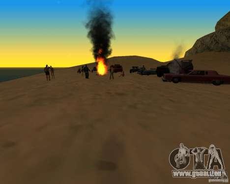 Plage večirinka pour GTA San Andreas deuxième écran