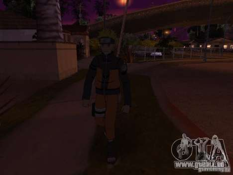 Skin Pack From Naruto pour GTA San Andreas huitième écran