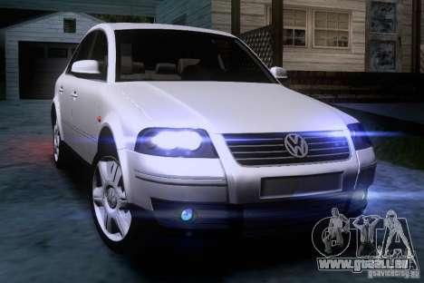 Volkswagen Passat B5+ pour GTA San Andreas vue de côté