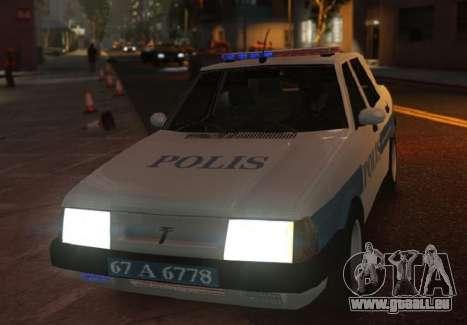 Tofas Sahin Turkish Police ELS pour GTA 4