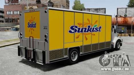 La nouvelle publicité pour camion de Benson pour GTA 4 quatrième écran