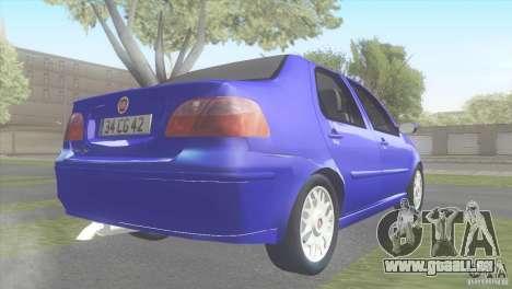 Fiat Albea Sole für GTA San Andreas linke Ansicht