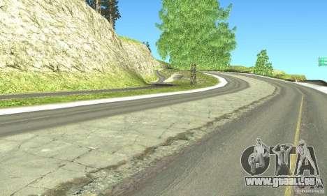 Real HQ Roads pour GTA San Andreas sixième écran