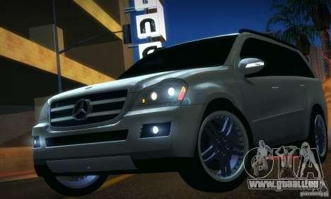 Mercedes-Benz GL500 V.2 für GTA San Andreas zurück linke Ansicht