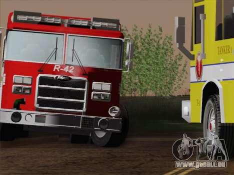 Pierce Contender LAFD Rescue 42 für GTA San Andreas Unteransicht