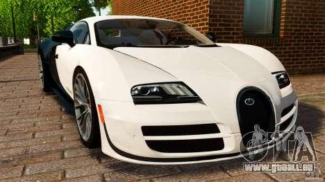 Bugatti Veyron 16.4 Super Sport 2011 [EPM] pour GTA 4