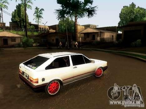 Volkswagen Gol 1994 pour GTA San Andreas laissé vue