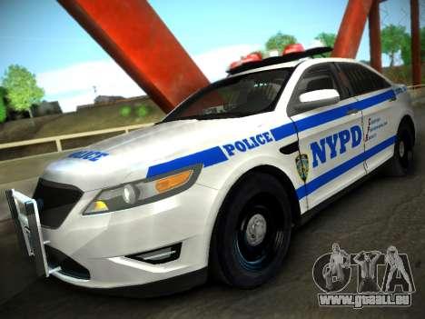 Ford Taurus NYPD 2011 für GTA San Andreas