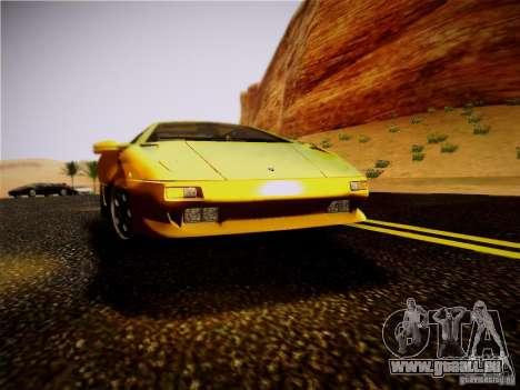 Lamborghini Diablo VT 1994 für GTA San Andreas Rückansicht