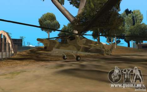 MI-28n für GTA San Andreas