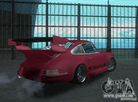 Porsche Carrera RS RWB pour GTA San Andreas vue de droite