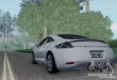 Mitsubishi Eclipse GT V6 pour GTA San Andreas vue de droite